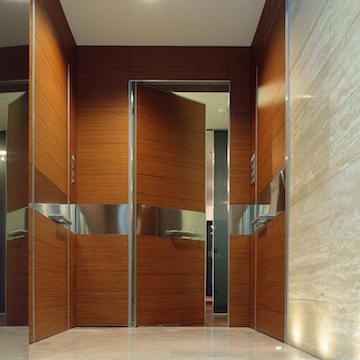 Porta scorrevole blindata cool porte with porta scorrevole blindata affordable scorrevoli in - Dettaglio porta scorrevole ...